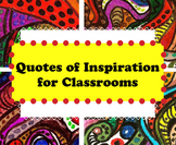 Quote Posters for Classrooms