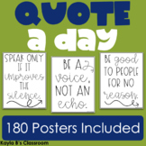 Quote a Day Posters