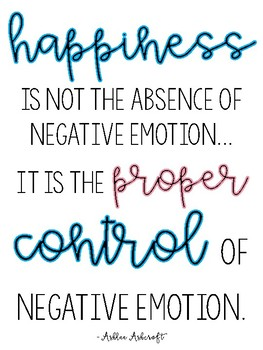 Quote for Classroom - Happiness