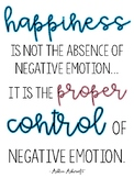 Quote for Classroom - Happiness / English Only