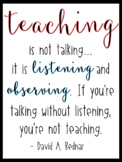 Quote for Classroom - Teaching / English Only