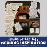 Quote of The Day-Morning Inspiration