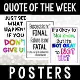 Quote of the Week Posters