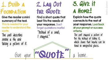 Quote with Background Information Printable