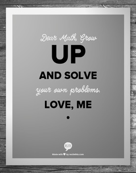 Quote_ Math Grow Up