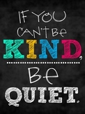 Quote_if you cant be kind be quiet