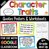 Growth Mindset Quotes Posters and Worksheets Distance Learning FREE