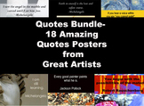 Quotes-Artists Bundle