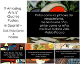 Quotes-Artists in Spanish