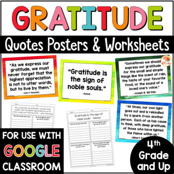 Gratitude Quotes Posters and Printables