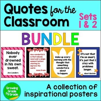 Quotes For The Classroom BUNDLE