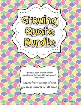 Quotes - Growing Bundle