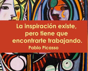 Quotes- Picasso in Spanish