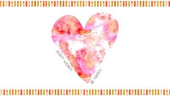 Quotes & Watercolor Desktop Backgrounds (5 Backgrounds)