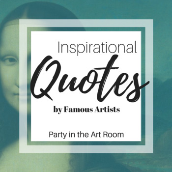 Quotes by Famous Artists