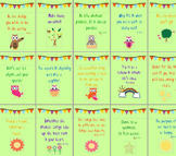 Inspirational Quotes for Classroom- Owl theme posters