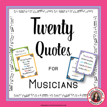 Quotes for Musicians Set 2