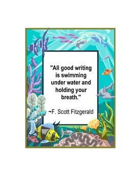 Quotes for Reading and Writing Pictures for Classroom Decorations