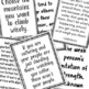CBT Inspired Motivational Quote Posters to Grow Positive School Culture