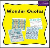 Quotes from Wonder by R.J. Palacio
