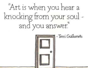 New Freebie: Inspirational Quotes about Art and Creativity