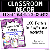 Inspirational Posters for the Classroom (100 posters)