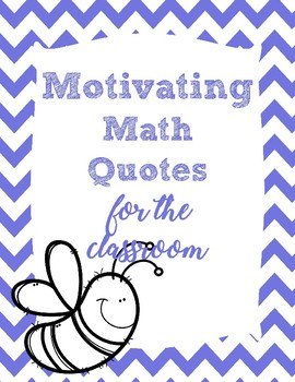 Quotes for the Math Classroom