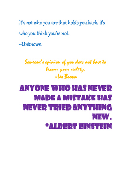 Quotes for your classroom