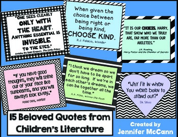 FREE Quotes from Children's Literature