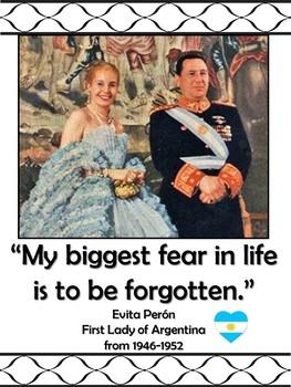 Quotes from Famous Hispanics in English Bulletin Board - Hispanic Heritage