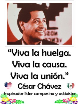 Quotes from Famous Hispanics in Spanish and in English Bulletin Board