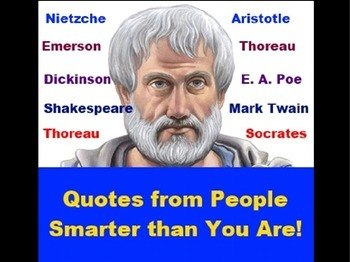 Quotes from People Smarter Than You Are PowerPoint