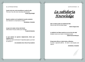 Quotes in Spanish: By Theme
