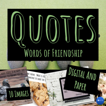 Quotes of Friendship