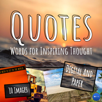 Quotes of Inspiration