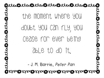 Quote of the Week B&W (Pack #2)