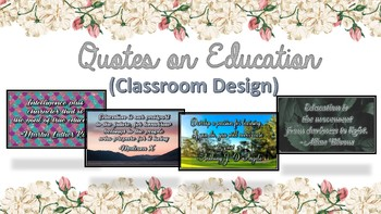 Quotes on Education: Classroom Design