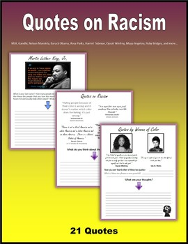 Quotes on Racism