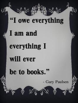 Quotes on Reading Mini Posters 2-Portrait Orientation