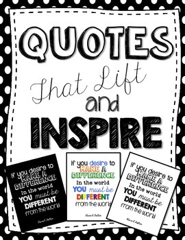 Quotes that Lift and Inspire- Subway Art