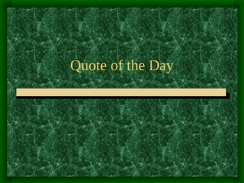 Quotes to Write About