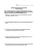 Quoting, Paraphrasing, and Summarizing Practice Worksheet
