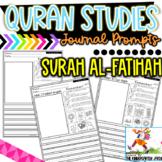 Quran Studies | Surah Al-Fatihah Writing Journal