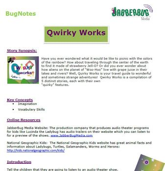 Qwirky Works BugNotes