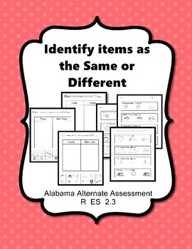 R 2.3 Identify Like and Same NEW Extended Standards AAA