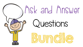 R 3.1 Ask and Answer Questions Bundle