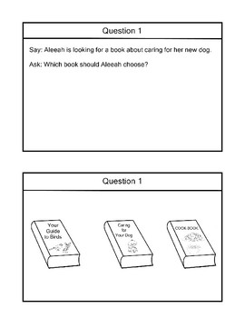 R 3.2 Identify Book by Its Cover NEW Extended Standards AAA