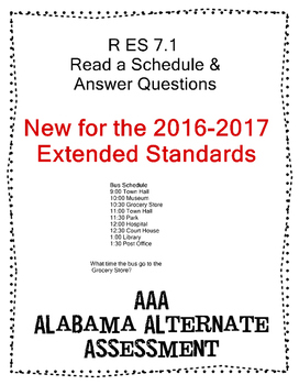 R 7.1 Read Schedule NEW Extended Standards AAA
