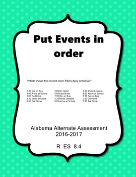 R 8.4 Determine Sequence of Events NEW Extended Standards AAA
