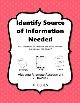 R 8.5 Identify Source of Info Needed NEW Extended Standards AAA